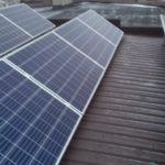 montaż instalacji na płaskim dachu