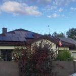 Montaż na dachu posesji