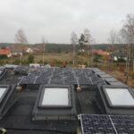 Instalacja na płaskim dachu